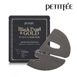 PETITFEE Black Pearl & Gold Hydrogel Mask Pack - 1шт