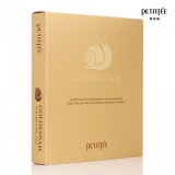 PETITFEE Gold & Snail Hydrogel Mask Pack - 30g x 5 шт