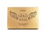 PETITFEE Hydrogel Angel Wings Gold Neck Pack 10g - 5 шт