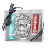 Marvis 3 Flavours Box - Classic, Whitening, Cinnamon 25 мл х 3 шт