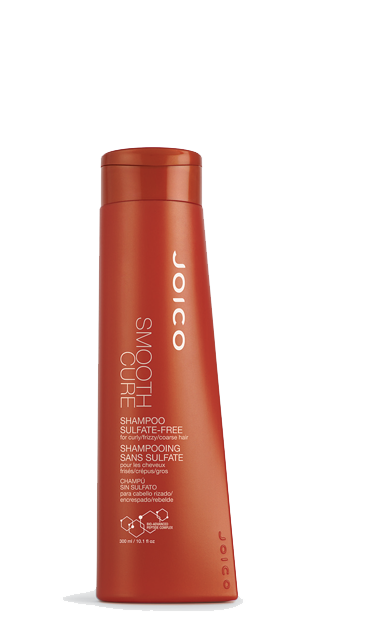JOICO Smooth cure shampoo sulfate-free for curly/frizzy/coarse hair 50 мл