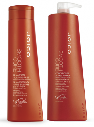 JOICO Smooth cure gift set duo (shampoo 300ml+conditioner 300ml)
