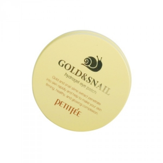 Petitfee Gold & Snail Hydrogel Eye Patch 60шт