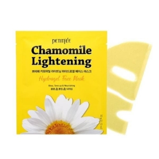 Petitfee Chamomile Lightening Hydrogel Face Mask 1x32 г
