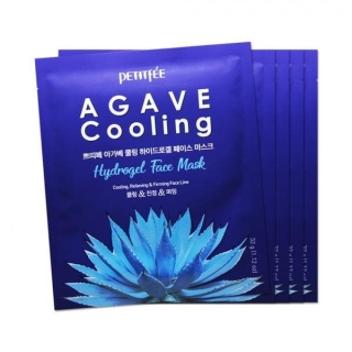 Petitfee Agave Cooling Hydrogel Face Mask 5 шт