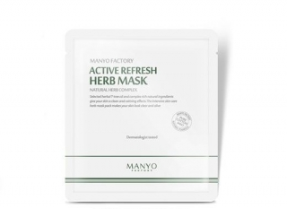 Manyo Active Refresh Herb Mask