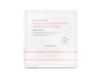 Manyo Moist Floral Brightening Ampoule Mask