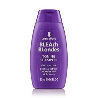 Lee Stafford Bleach Blondes Shampoo 50 мл
