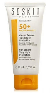 SUN CREAM VERY HIGH PROTECTION SPF 50+  Soskin