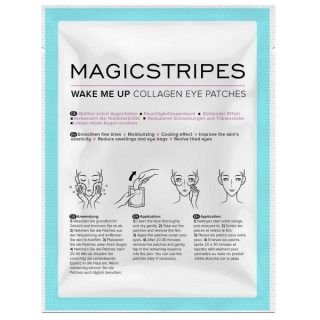 Magicstripes Wake Me Up Collagen Eye Patches Sachet 1 шт