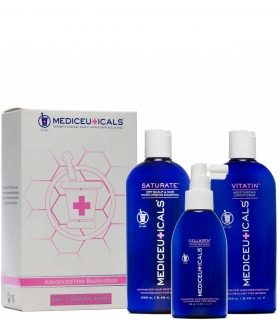Mediceuticals For Women Kit Dry (Saturate 250 ml - Cellagen 125 ml - Vitatin 250
