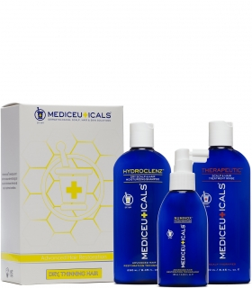 Mediceuticals Hair Restoration Kit Dry 3pc (Hydroclenz250 ml - Numinox 125 ml -
